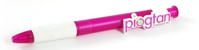 Pen met 3D clip
