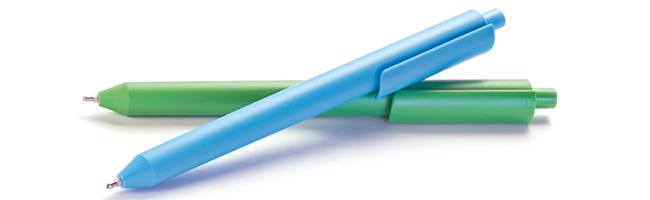 Chalk groen en blauw