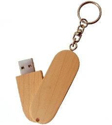 USB Twist in hout