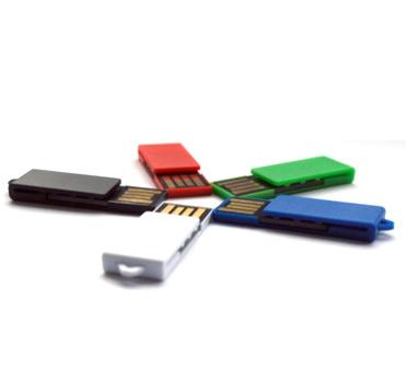 Een USB Drive met een microUSB uitgang